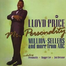 Lloyd Price Mr. Personality CD NEW SEALED Stagger Lee/Just Because/Question+