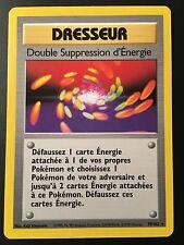 Carte Pokemon DOUBLE SUPPRESSION D'ENERGIE 79/102 Rare Set de Base Français NEUF