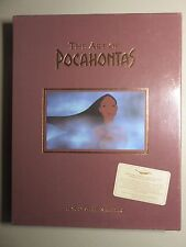 Disney's The Art of Pocahantas LE Signed by the Directors. Sealed. Never opened.