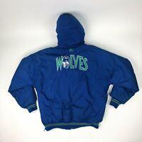 VTG NBA Minnesota Timberwolves Starter Jacket / Coat Adult Size Medium