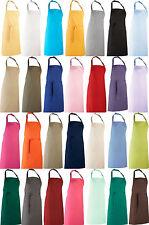 Schürze Kochschürze Latzschürze Arbeitskleidung viele Farben sehr Robust PW150