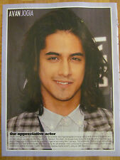 Avan Jogia, The Janoskians, Double Sided Full Page Pinup