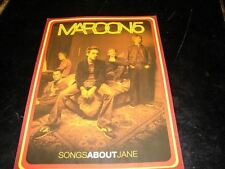 MAROON 5 SONGS ABOUT JANE!!!!!ORIGINAL FRENCH PROMO BIO