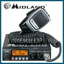 MIDLAND 78 PLUS 80 Canali AM FM MULTI BANDA RADIO CB RICETRASMITTENTE & Microfono