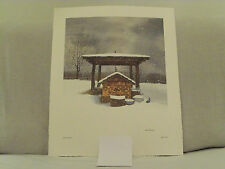 "Bob Timberlake ""Well at the Studio""  Signed & numbered reduced price"