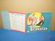 Vintage,Books,Kopeefun Magic Copy Paper Kit,Embree