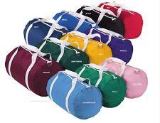 Augusta 210-Denier NEW Nylon Barrel Duffel Sports Retro Gym Bag 18 x 10, 2000