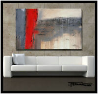 ABSTRACT CANVAS PAINTING Direct from Artist USA Large ELOISExxx