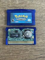 Pokemon Sapphire Version Nintendo GBA Authentic, Saves,Dry Battery SHIPS FAST⚡️