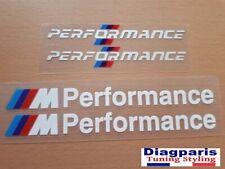 4x Logo BMW ///M Performance Autocollants Stickers Logos Set Motorsport Emblème