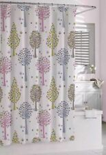 "NEW BAMBINI by KASSATEX Merry Meadow Owl Pink Floral Shower Curtain 72"" x 72"""