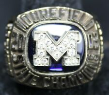 2003 Moorefield WV Football State Championship Ring - High School - Size 12.5