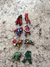 Avengers Superheroes shoe charm set of 8 New USA Seller+Free Shipping