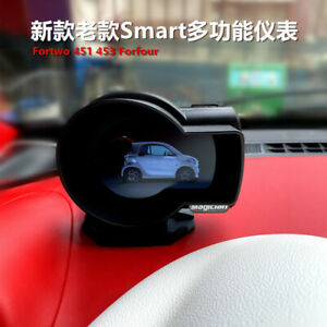 special OBD meter, modification, LCD, head-up display For smart fortwo 451 453