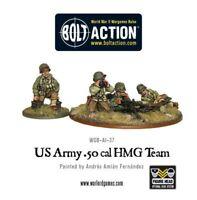 Warlord Games - US Army 50 Cal HMG Team 28mm Bolt Action Amerika WW2 USA Amis