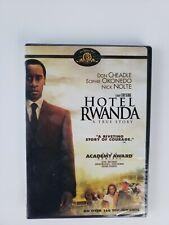 Hotel Rwanda (Dvd, 2004) Don Cheadle Documentary Drama True Story Academy Awards