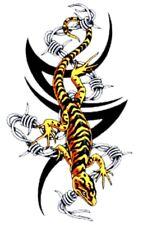 Tattoo Style Tribal Lizard l design iron on transfer