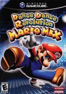 Dance Dance Revolution Mario Mix Nintendo Gamecube Game Only