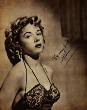 Gloria Grahame - Signed - 8 1/2 X 11