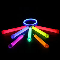 5pcs Glow Sticks Christmas Party Light Decor Assorted Lanyard Favors Neon Rave S
