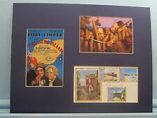 """Robert Louis Stevenson - """"Treasure Island"""" & First Day Cover of his own stamp"""