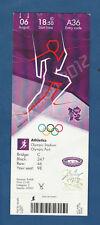 Orig.Ticket   Olympische Spiele LONDON 2012 - Leichtathletik 06.08./ 5 Finals -C