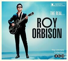 Roy Orbison REAL Ultimate Collection 45 ORIGINAL RECORDINGS Best Of NEW 3 CD