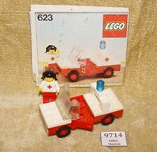 LEGO Sets: Classic Town: Hospital: 623-1 Medic's Car (1978) 100% w/ INSTRUCTIONS