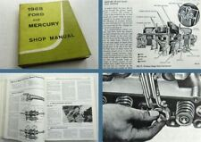 FORD and Mercury models SHOP MANUAL 1968 Montclair Parklane CUSTOM Galassia...
