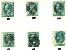 ~ US Classic Postage Stamps w/ Attractive 1800s Contemporary and Fancy Cancels