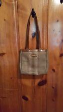 Polo by Ralph Lauren women's vintage shoulder bag coated canvas waterproof brown