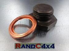 Bearmach LAND ROVER DEFENDER 2.5 na /& 2.5 TD magnetico coppa Plug /& Rondella 599552