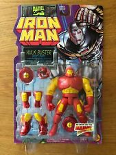 Iron Man Hulk Buster Iron Man with Power Removable Armor Marvel Toy Biz 1995
