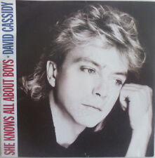 """7"""" 1985 MINT-! DAVID CASSIDY : She Knows All About Boys"""
