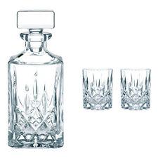 Nachtmann Noblesse Whiskyset Set 3tlg. Kristallgals Whiskykaraffe  Whiskygläser