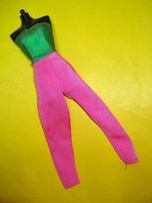 Jem and the Holograms 80s Doll Clothes Shana'S Two-Tone Jumpsuit 2nd Wave