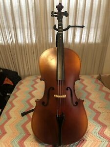 Knilling 2008 Bacharest 1/2 Size Cello P152H With Bow