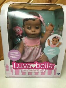 SPIN MASTER LUVA BELLA INTERACTIVE DOLL ENGLISH FRENCH SPEAKING REALISTIC
