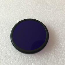 52mm UV-IR Multiband Pass Glass ZB2 BG3  Violet Blue Camera Photography Filter