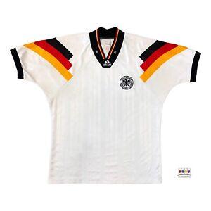 Germany 1992/94 International Home Soccer Jersey XL Adidas