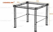 Trade Show Booth, Trusses DJ Stage 12' X 12' X 10' Metal Truss Triangle Trusses