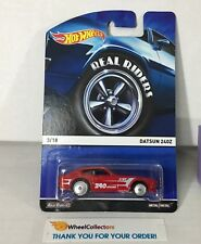 Datsun 240Z * RED * Hot Wheels Heritage REAL RIDERS * WF8