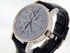 Chronoswiss Chronoscope CH 1520 Regulator Style Dial Chrongraph Plat $39,500 NIB