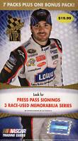 2009 Press Pass VIP Racing - Pick A Card