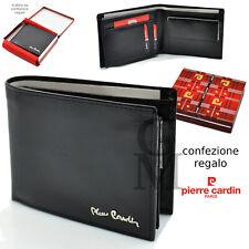 Portafoglio uomo Pierre Cardin in pelle portamonete porta carte porta assegni