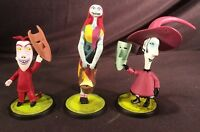 MINT Set Disney NIGHTMARE BEFORE CHRISTMAS SALLY LOCK BARREL Plastic Figure Jack