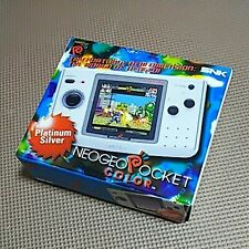 SNK NEOGEO NEO GEO Pocket Color console Platinum silver Very Rare from Japan