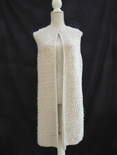 Atmosphere shaby chic long Waistcoat / Coat / Cardigan Label M Size 10 /12