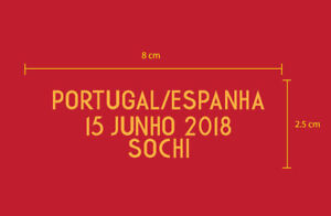 Portugal A Seleção das Quinas World Cup 2018 Reproduction PU Match Details