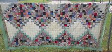 """Quilt Top-Scrappy Squares-93"""" X 85""""-Ready to Quilt"""